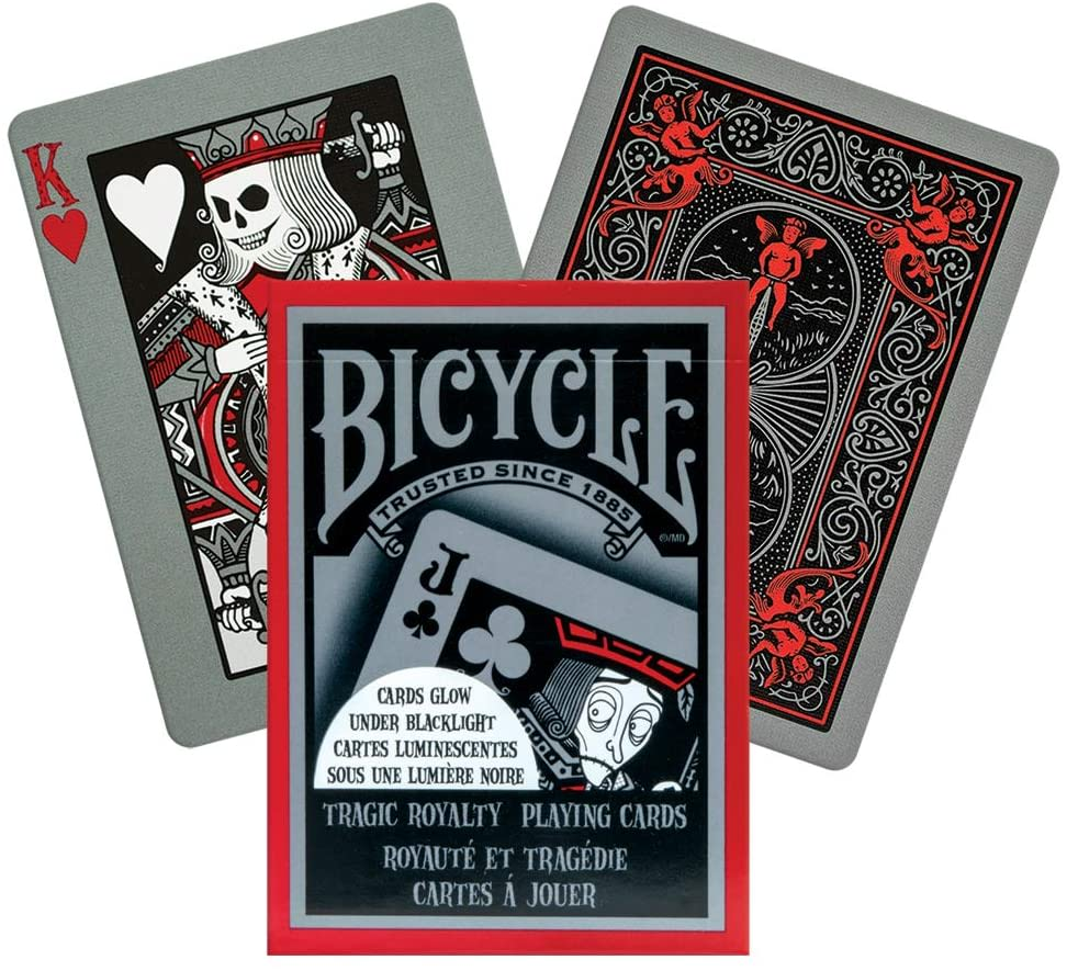 Baraja Bicycle Tragic Royalty