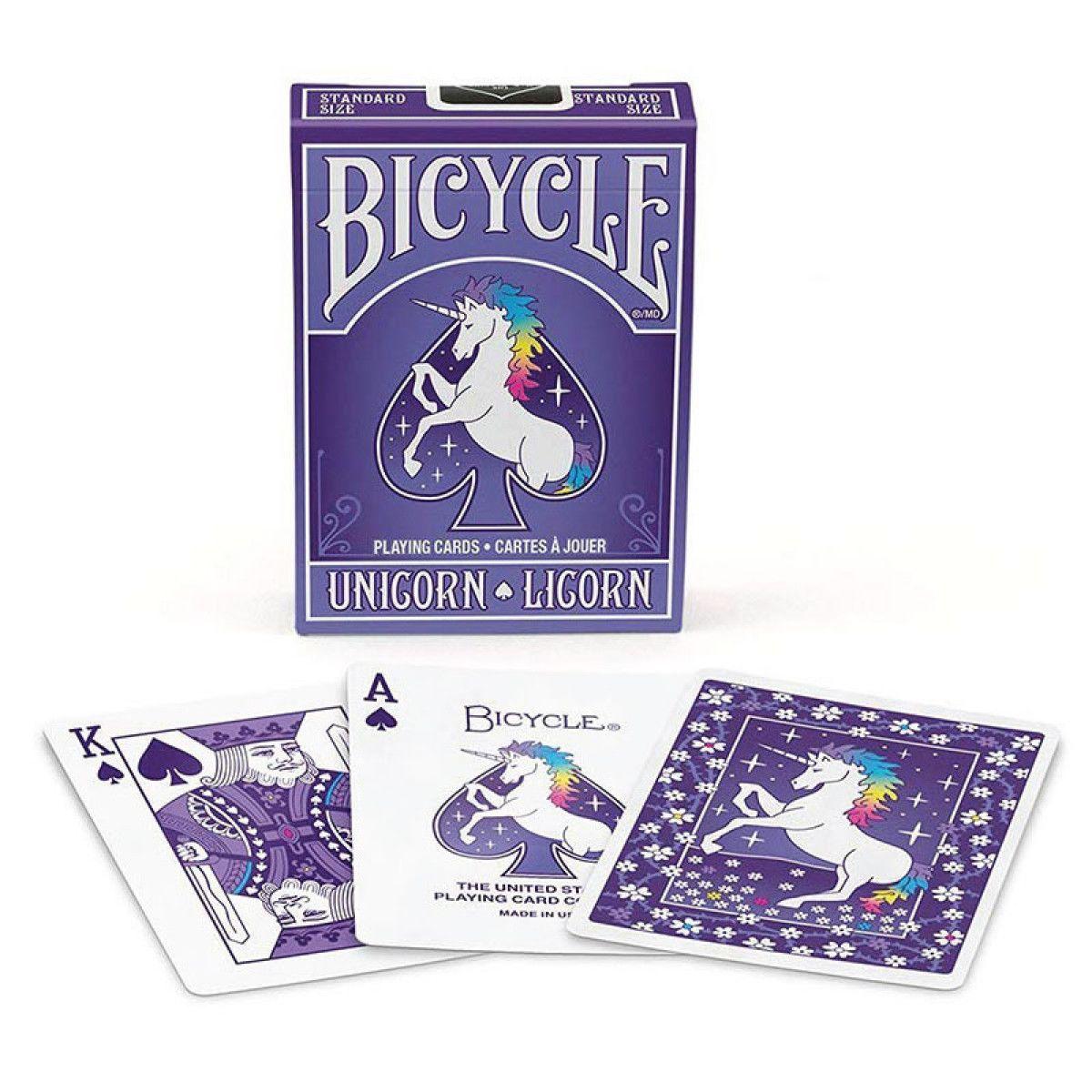 Baraja Bicycle Unicorn