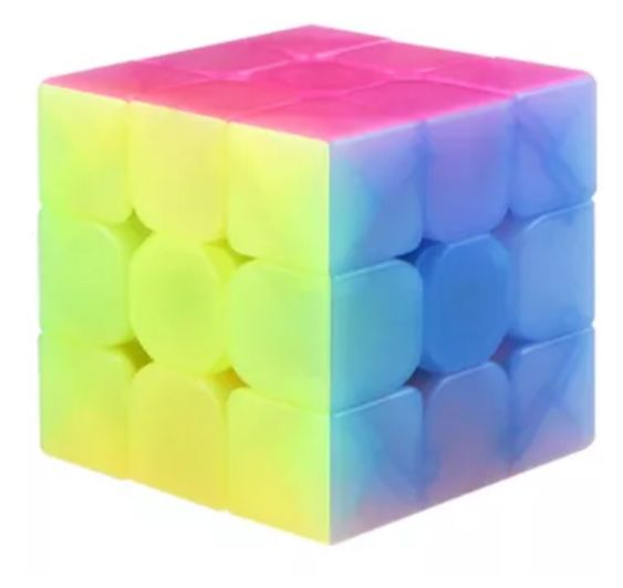 3x3x3 Warrior W Jelly Cube