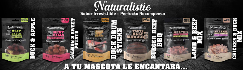 Nueva linea de Snacks Naturalistic