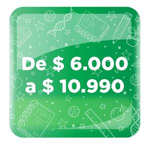 PRODUCTOS DE 6 000 A 10 990