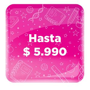 PRODUCTOS HASTA 5 990