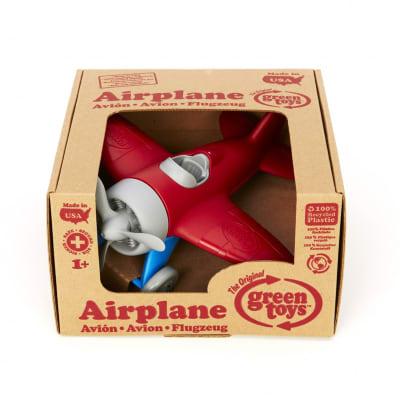 Avión rojo Green Toys