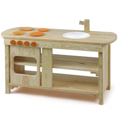Centro de cocina madera