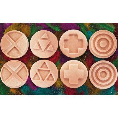 8 Piedras sensoriales interconectables