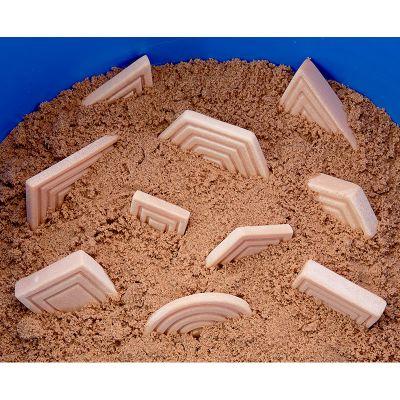12 Piedras sensoriales formas y tamaños