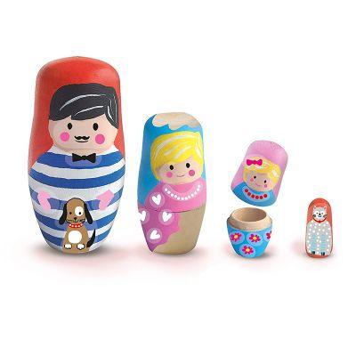 Juego pintar muñecas rusas Ses