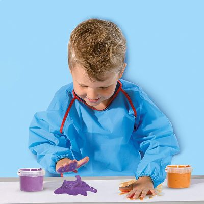 Pintura para dedos fluffy 4 colores Ses