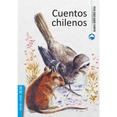 Delfín de color (azul) - Cuentos chilenos