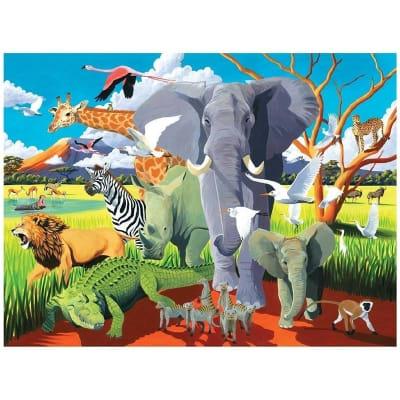 Puzle 500pz, Wild safari