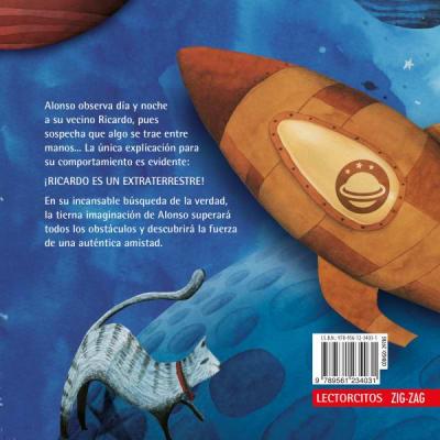 Lectorcitos rojo - Ricardo el extraterrestre