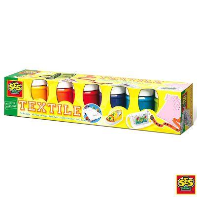 Pintura textil 6 colores Ses