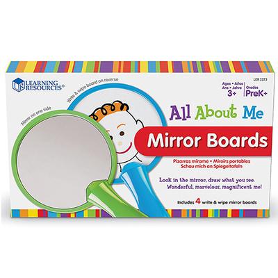 Kit de 4 espejos para verse y dibujarse