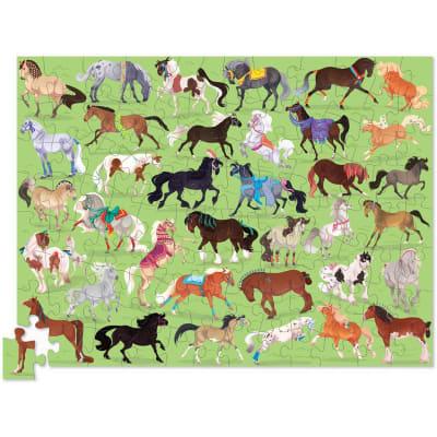 Puzzle 100pz caballos