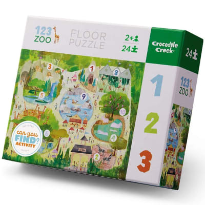 Puzle 24pz 123 zoo