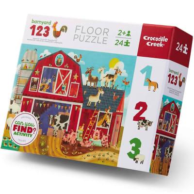 Puzzle 24pz granja 123