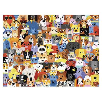 Puzzle 72pz lote de perros