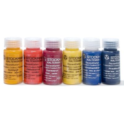 Acuarela 6 colores Stockmar