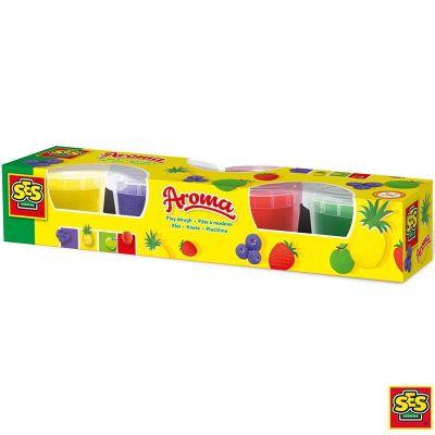 Plastilina aromas 4 colores Ses