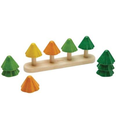 Juego clasificar y contar árboles