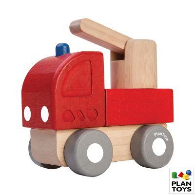Mini camión de bomberos Plantoys