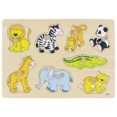 Encaje 8pz Animales del zoo