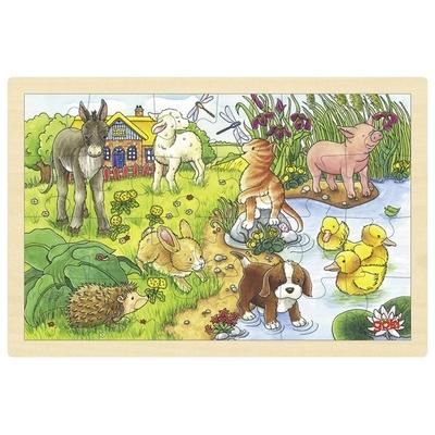 Puzzle cachorritos 24pz