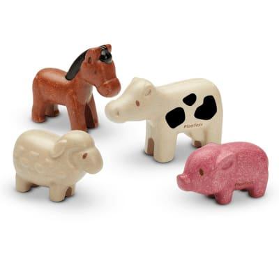 4 Animales de la granja