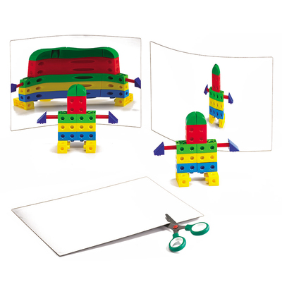 3 Espejos Flexibles 30x20cm