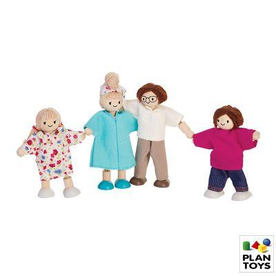Familia actual Plantoys, 4pz