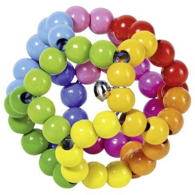 Sonajero elástico pelota