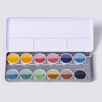 Acuarelas naturales 12 colores