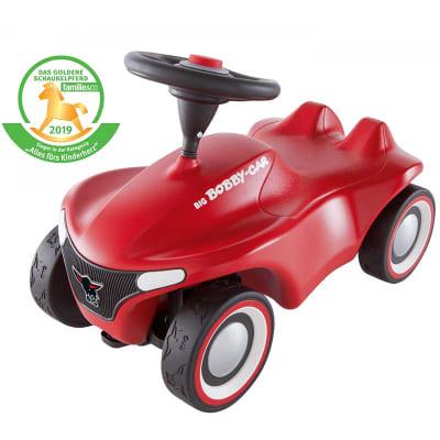 Vehículo correpasillo con volante Big Bobby Car Neo rojo