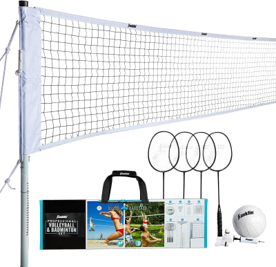 Volleyball & badminton play set Hostfull