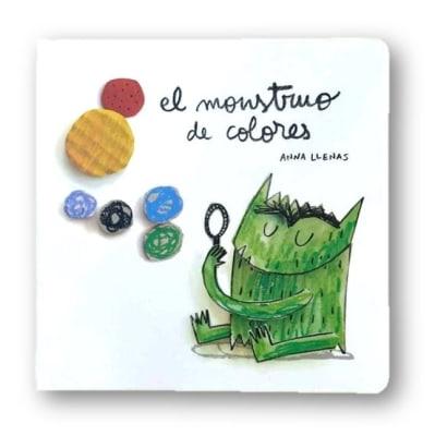 El monstruo de colores, edición pequeña