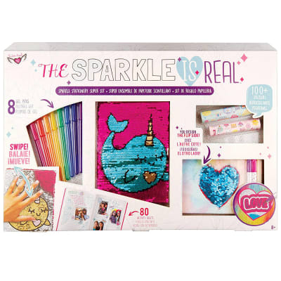 Kit diario Sparkle Stationery súper set