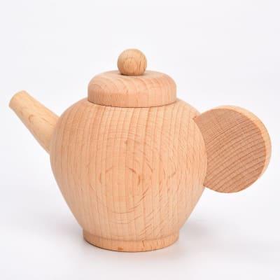 Bandeja con vajilla y utensilios de cocina Montessori