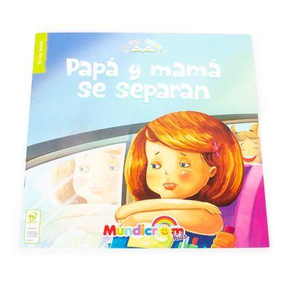 La vida en cuentos - Papá y mamá se separan