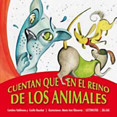 Lectorcitos rojo - Cuentan en el reino de los animales