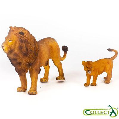 Set de 2 leones