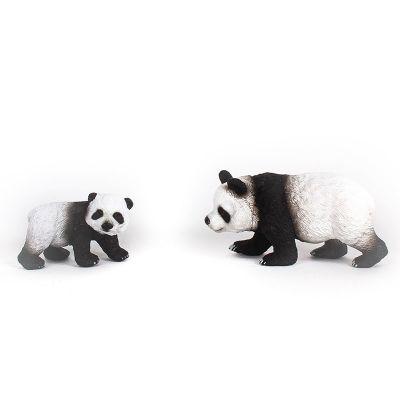 Osos panda mamá y bebé