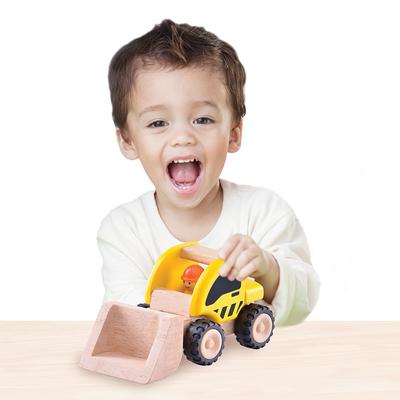 Mini cargador madera
