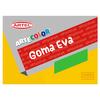 Artecolor - Estuche goma eva 6 pliegos, 6 colores