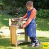 Banco de juegos de madera para trabajos exteriores