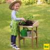 Mesa de madera para plantar al aire libre