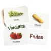 36 Tarjetas de Frutas y Verduras