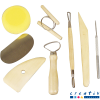 Kit 8 herramientas para cerámica