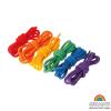 Set 6 cordones para enhebrar arcoíris Grimm's