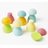Setas de madera Grimm's color pastel, 6 pz