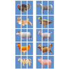 Puzzle Gigante 10 Animales de la Granja 30pz
